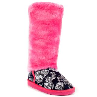 Iron Fists Multi Color Shotgun Tall Fugg Boot   Pink for 54.99