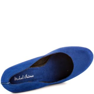 Michael Antonios Blue Gezana 2   Blue Suede for 64.99
