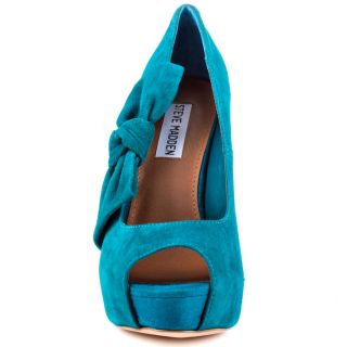 Steve Maddens Blue Bowderek   Teal Suede for 109.99