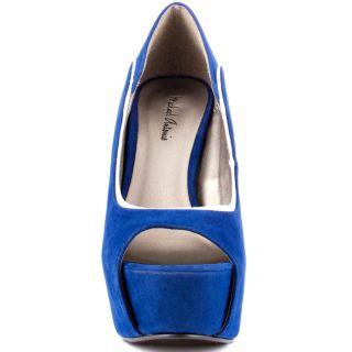 Michael Antonios Blue Keona   Cobalt Blue Velvet for 79.99