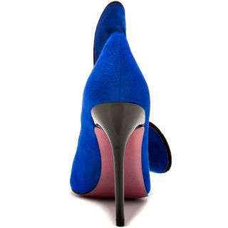 Paris Hiltons Blue Cheyanne   Royal Blue Suede for 109.99