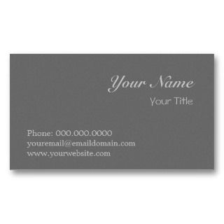 Professional Elegant Business Card Template
