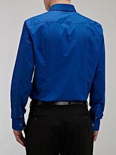 Hugo Boss Jenno plain slim shirt Blue