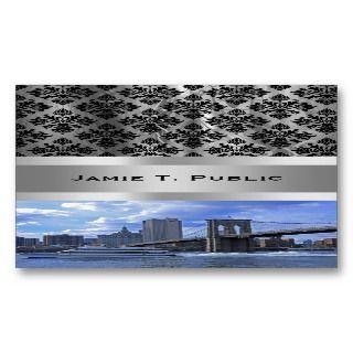 Brooklyn Bridge & Municipal Building Business Card