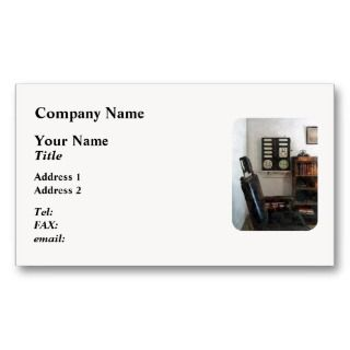 Eye Doctors Office with Eye Chart Business Card