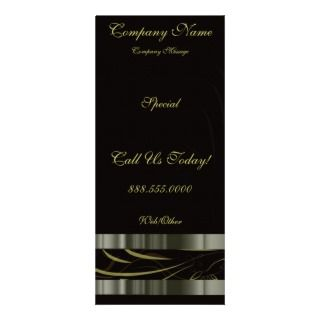 Satin Ribbons Rack Card