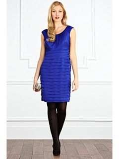 Coast Nikita ruched dress Blue