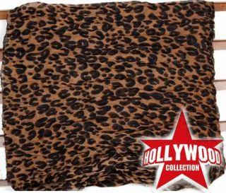 Celebrity Hot Large Animal Leopard Prints Shawl Scarf 180cm Long
