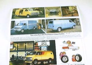 1977 77 Dodge Truck Brochure Pickup D100 Street Van Ramcharger