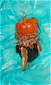 last one katherine s collection halloween pumpkin witch kissing fish