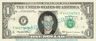 Keanu Reeves Dollar Bill Mint