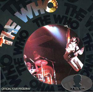 Tour Concert Program Programme Tourbook Keith Moon Pete Towns