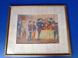 Book Illustration Painting by Catherine Kearns 1929 Listed