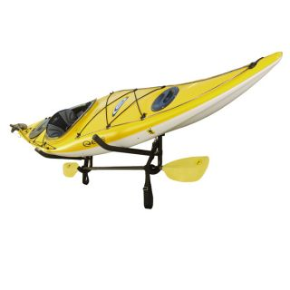 Sparehand KC 12 Wall Mount Kayak Storage Rack with Paddle Holder from