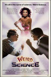 Weird Science 1985 Original U s One Sheet Movie Poster
