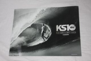 New Kelly Slater Quiksilver Poster KS10 World Champion