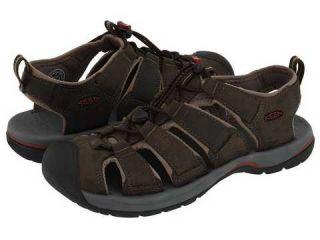 Keen Kreek Black Olive Brindle Mens Sport Sandals Size 9 M