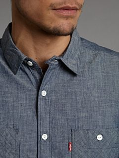 Levis Chambray work shirt Denim