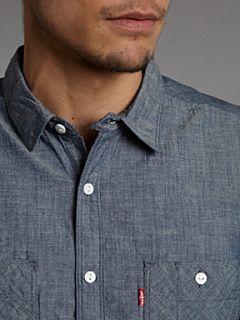 Levis Chambray work shirt Denim