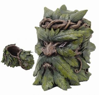 Item GREENMAN JEWELRY KEEPSAKE BOX.UNIQUE HOME AND GARDEN DÉCOR