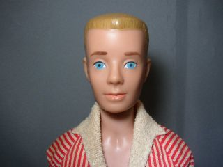 Vintage 1964 Blonde Ken Barbie Doll in Original Outfit