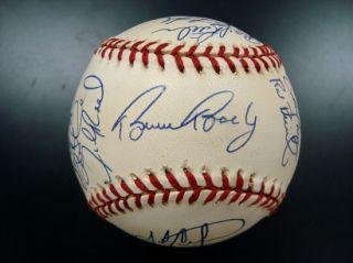 San Diego Padres Team Signed Baseball w Tony Gwynn Ken Caminiti