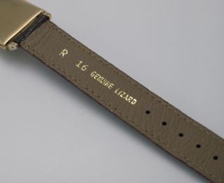 Very RARE Vintage 1949 Hamilton KEITH14K Gold Step Lugs 19J Mint Dial