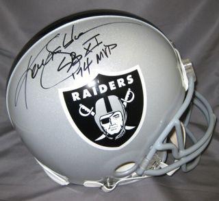 Ken Stabler Autographed Oakland Raiders Proline Helmet