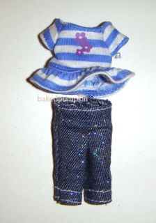 Kelly Tommy Doll Cool Fashion Clothes for 4 inch Kelly Dolls PIK