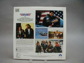 Laserdisc Top Gun Tom Cruise Kelly McGillis