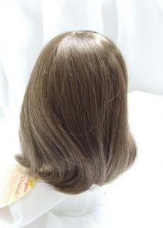Size 12 13 Kemper Connie Light Brown Doll Wig Baby Reborn OOAK BJD