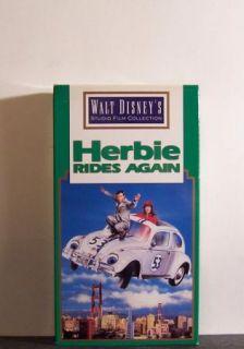 Herbie Rides Again VHS Ken Berry Helen Hayes 1974