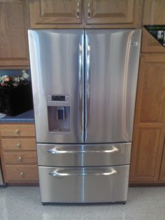 GE Profile 20.7 Cu. Ft. Refrigerator with Armoire Styling