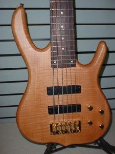 KSD Burner Deluxe 6 String Electric Bass Guitar