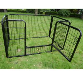 30 Pet Pen Playpen Fence Dog Cat Exercise Kennel Steel Frame in