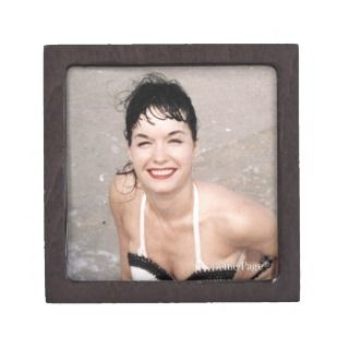 23.80   Bettie Page Smiling In the Surf on the Beach Premium Jewelry