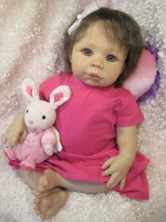 Kendal by Pat Moulton Reborn Baby Girl Doll 3 4 Limbs OOAK