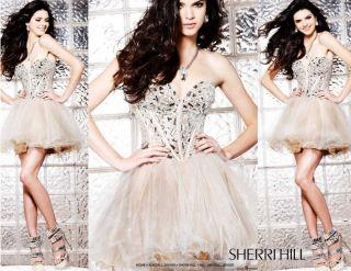 Sherri Hill 1403 Free Earrings Price Match Mirror Prom Dress Bridal