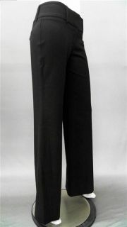 One Love Kendra Ladies Womens 2 Stretch Trousers Pants Black Solid
