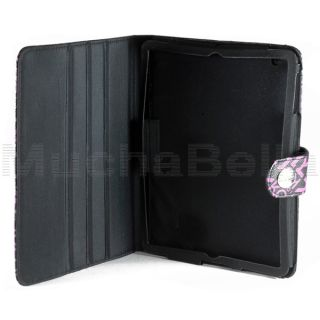 Kenneth Cole Reaction iPad Tablet Folio Case Stand Cover Monogram