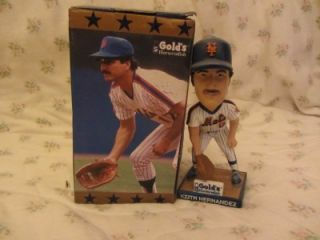 Keith Hernandez New York Mets 50th Anniversary Bobblehead MLB 6 17 12