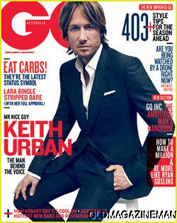 KEITH URBAN   GQ Australia magazine August 2012 Timothy Olyphant GUY