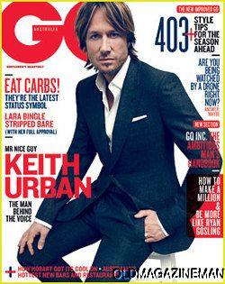 KEITH URBAN   GQ Australia magazine August 2012 Timothy Olyphant GUY