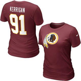 Nike Washington Redskins Ryan Kerrigan Womens Name & Number T Shirt
