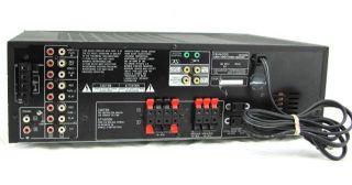 Kenwood KR V5560 Audio Video Stereo Receiver Powered On
