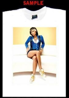 Keri Hilson Custom Photo T Shirt Tee Perfect World 841