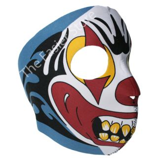 Neoprene Full Face Mask motorbike Biker Ski Paintball Snowboard Sports