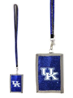 Kentucky Wildcats Beaded Lanyard Wallet