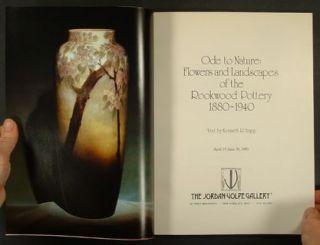 Rookwood Art Pottery Flowers Landscapes Jordan Volpe Gallery