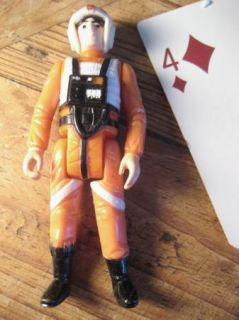STAR WARS VINTAGE ACTION FIGURE    LUKE SKYWALKER X WING PILOT    X
